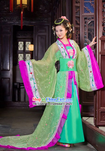 Traditional Chinese Tang Dynasty Royal Lady Costume for Women