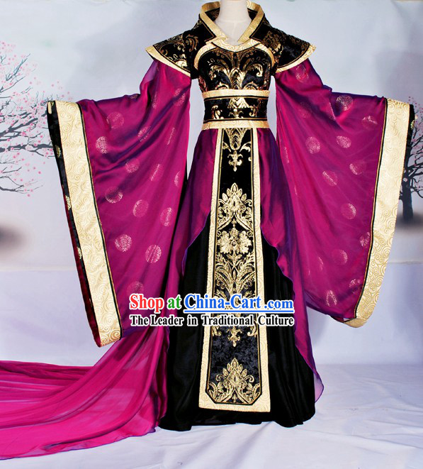 Ancient Chinese Imperial Palace Empress Costume Complete Set