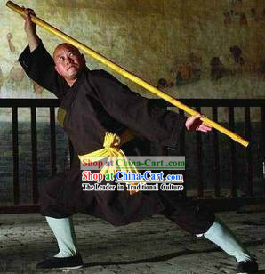 Chinese Shaolin Temple Kung Fu Master Costumes for Men