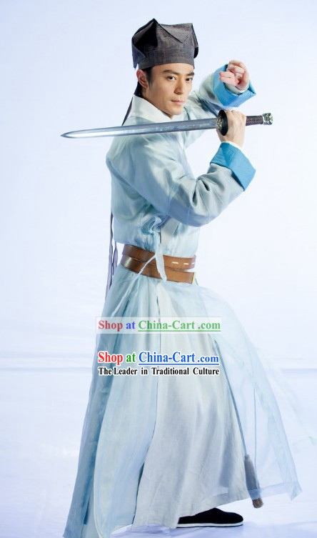 Ancient Chinese Legendary Swordsman Lin Huchong Clothes