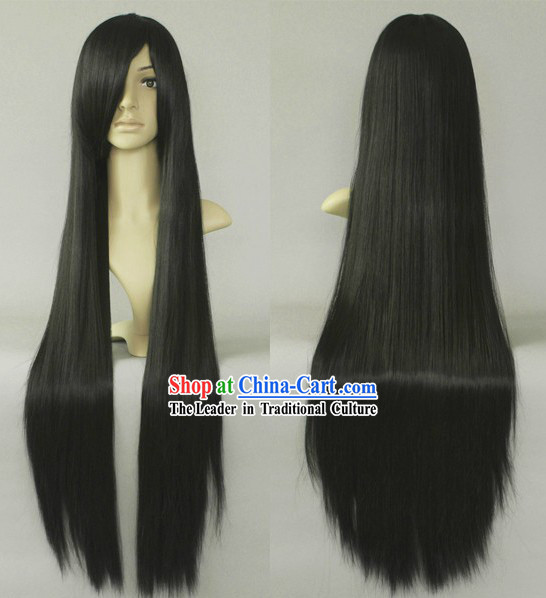 Ancient Chinese Long Guzhuang Wig