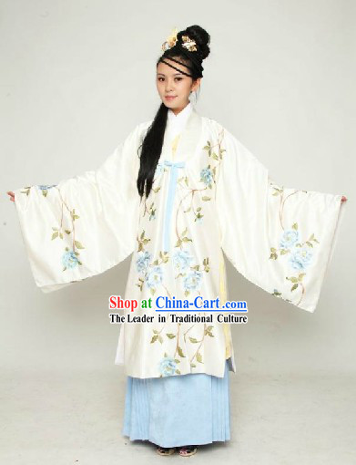 Ancient Chinese Ming Dynasty Female Clothing Complete Set