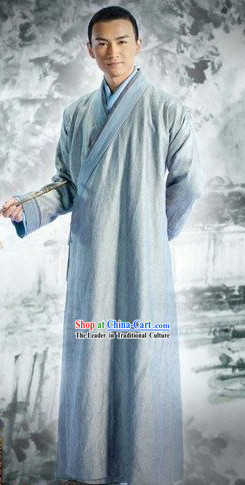 Ancient Chinese Monk Costume for Men