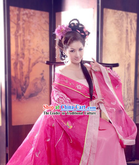 Chinese Tang Dynasty Lady Costumes