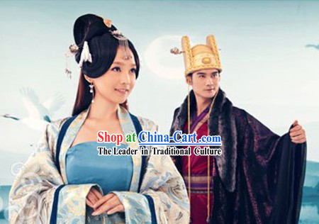 Ancient Chinese Emperor and Empress Costumes and Hats