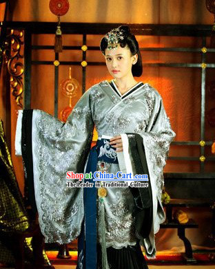 Chinese Classic Han Imperial Lv Zhi Empress Costumes
