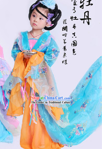Ancient Chinese Empress Costumes for Children