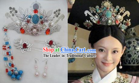 Qing Dynasty Empress Handmade Hair Accessories