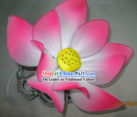 Chinese Classical Dancing Lotus Headpiece