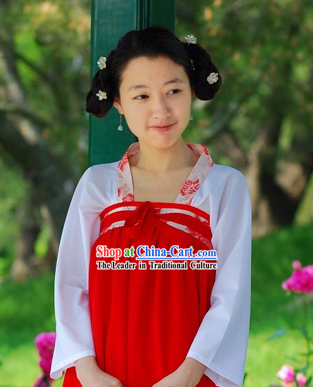 Tang Dynasty Palace Maid Clothes