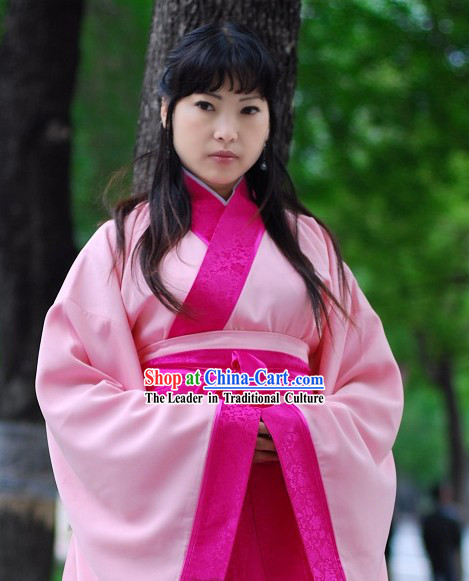 Han Dynasty Pink Lover Clothing