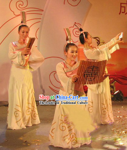 Shi Zhu Ya Yun Chinese Classical Dance Costume