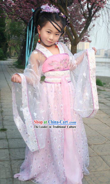 Ancient Chinese Princess Clothing for Girls