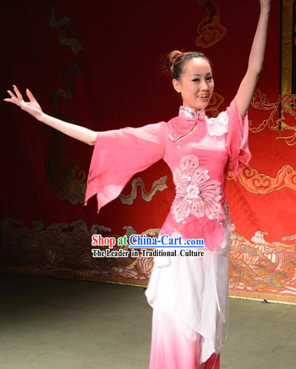 Chinese Stage Performance Yang Ge Dance Costumes for Women