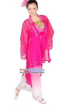 Chinese Classical Dance Costumes and Headwear for Women