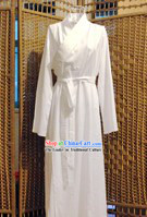 Ancient Chinese White Hanfu Robe for Men or Women