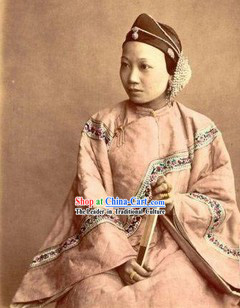 Qing Dynasty Xiu He Custom Made Clothes