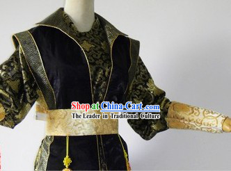 Ancient Chinese Flying Daggers Film Liu Dehua Costumes Complete Set for Men