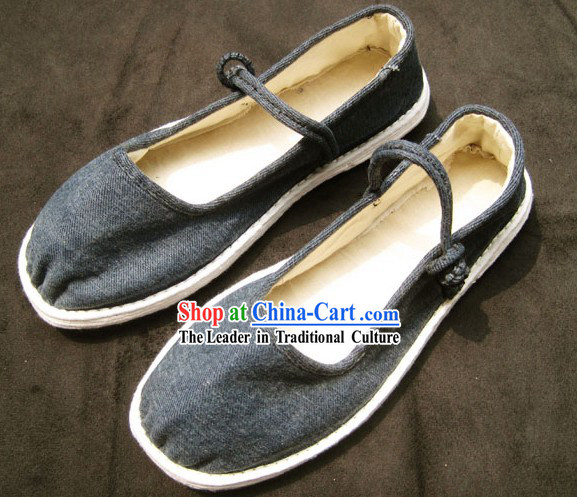 All Handmade Chinese Thick Sole Shoes