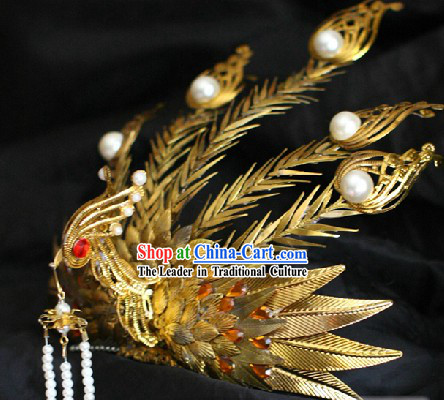 Ancient Chinese Imperial Palace Princess Phoenix Hair Accessories