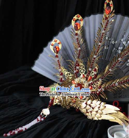 Chinese Marriage Customs Imperial Palace Princess Phoenix Wedding Headwear