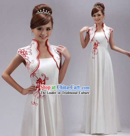 Chinese Chorus Uniform for Women