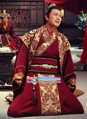Phoenix and Peony Television Drama Prince Costumes Complete Set