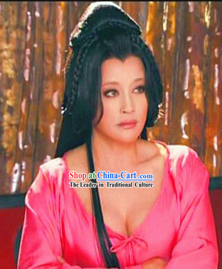 Wu Zetian First Female Chinese Emperor Long Wig
