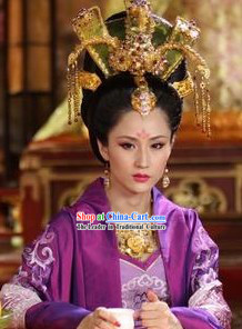 Tang Dynasty Imperial Palace Headdress for Women