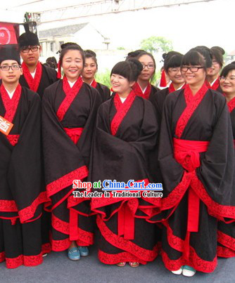 Ancient Chinese University Students Clothes for Men or Women