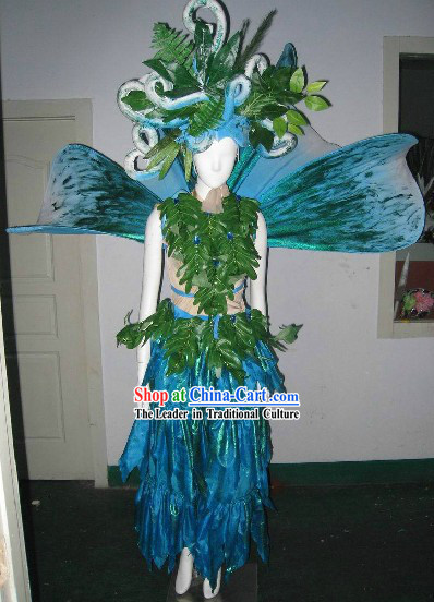 Model Stage Performance Dance Costumes Complete Set for Women