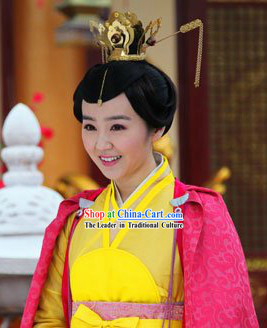 Traditional Ancient Chinese Imperial Royal Hair Accessory Complete Set