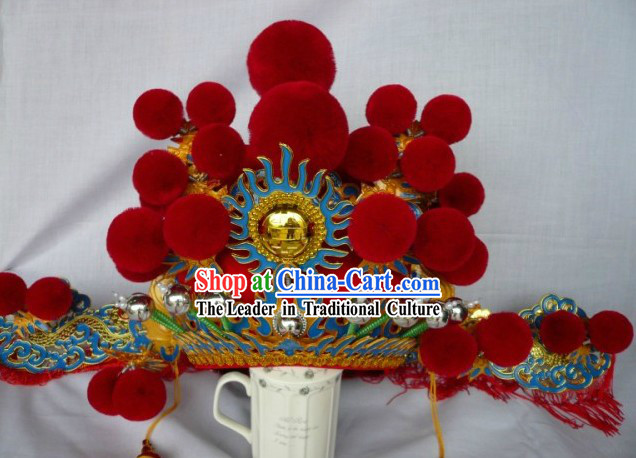 Traditional Chinese Opera Bridegroom Hat