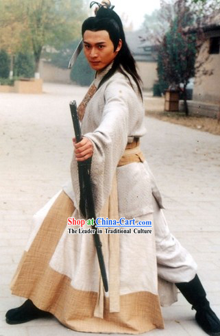 Chinese Traditional Swordsman Clothing for Men