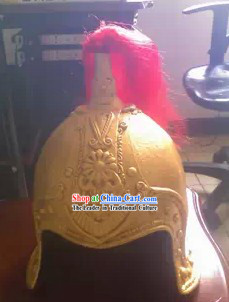 Ancient Chinese Military General Helmet Headwear