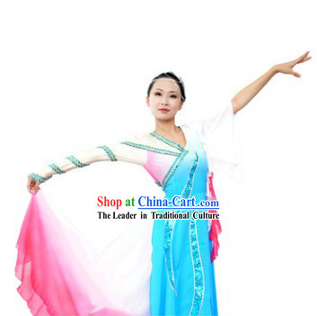 Color Transition Classical Dance Costumes for Women