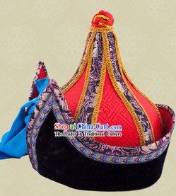 Ancient Chinese Mongolian Male Hat for Men