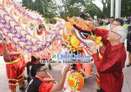 Big Ceremony Opening Supreme Luminous Dragon Dancing Costume Complete Set