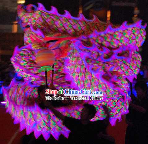 Illuminated Dragon Dance Costumes Complete Set for 7-8 People