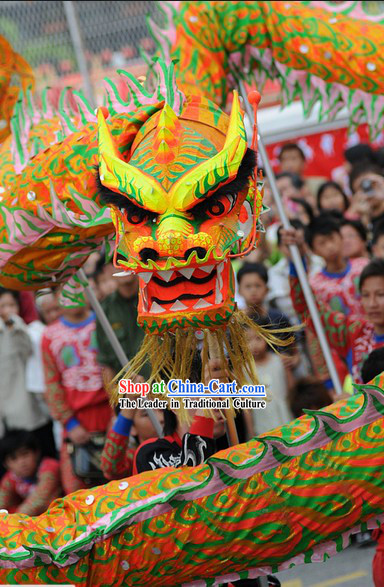 Middle School Lumious Dragon Dance Costume for 9-10 Students