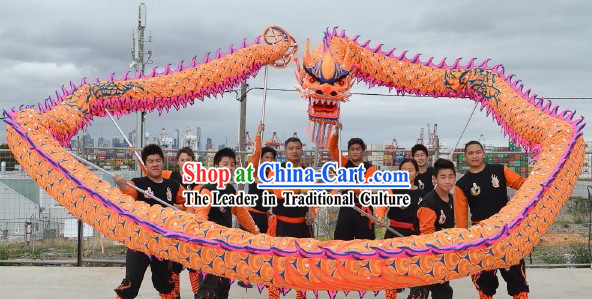 Supreme Dragon Dance Head and Costumes Complete Set