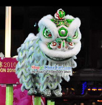 Chinese Southern Hoksan Lion Dance Costume for Sale