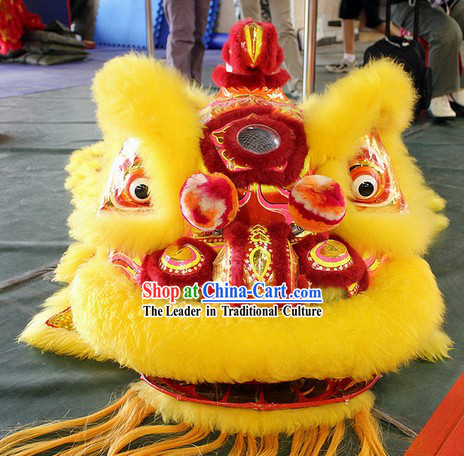 Supreme Professional Lion Dance Costume for Adults or Kids