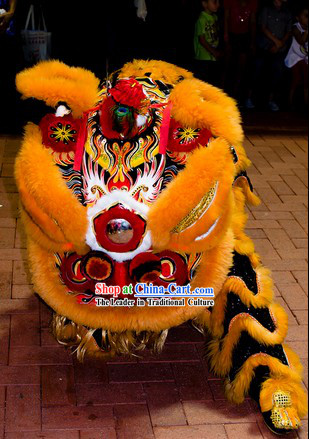 Southern Hoksan Lion Dancing Head and Costumes Rental