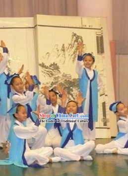 Ancient Chinese Student Costumes for Kids
