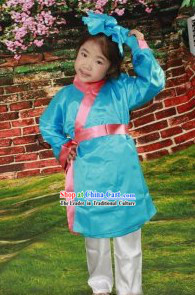 Ancient Chinese Student Costumes for Girls