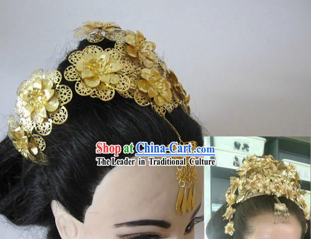 Ancient Chinese Imperial Princess Phoenix Headpieces
