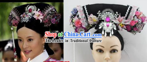 Qing Chao Zhen Huan Palace Hair Accessories Hat for Women