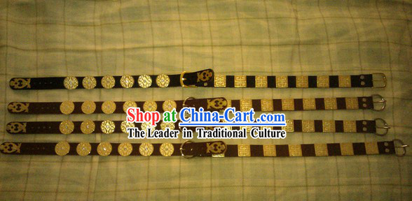 Chinese Song Dynasty Handmade Hanfu Clothing Belt for Men
