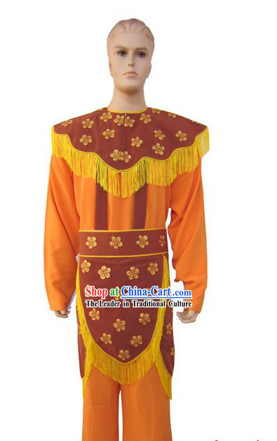Chinese Peking Opera Embroidered Deer Costumes